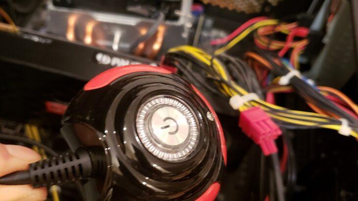 デスクトップPCの電源スイッチを増設してみる(後編)